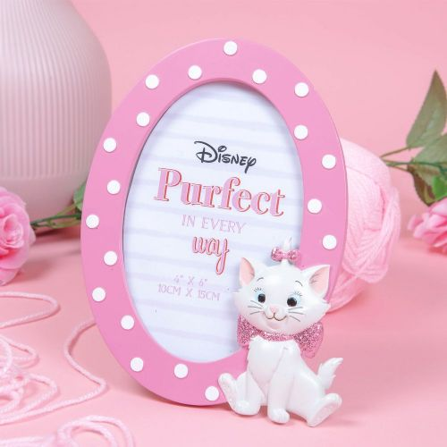 Disney Aristocats Marie Pink Oval 3D Photo Frame Gift